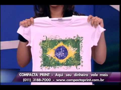 Compacta Print - Máquina de Estampar no Programa do Ratinho 18.01.2011