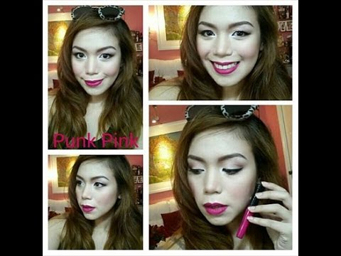 LIP COLOR CODING MAKEUP LOOK: PUNK PINK - candyloveart