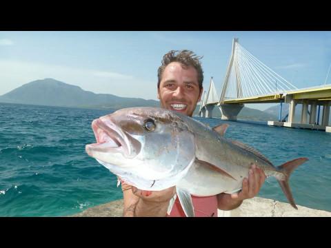 HEAVY CASTING WITH ZAVRAS Ch: ΨΑΡΕΜΑ ΜΑΓΙΑΤΙΚΩΝ 10+ KG ΜΕ ΖΩΝΤΑΝΟ EXTREME SALTWATER FISHING