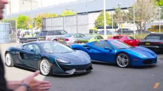 Ferrari 488 Spider or McLaren 570 GT, With Spike Feresten. Drive Youtube Channel.