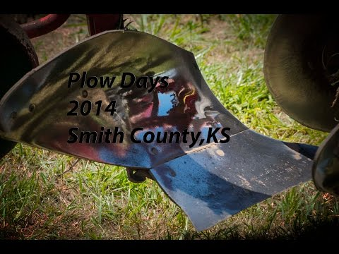 Antique Plow Day 2014 Smith County Kansas
