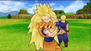 PSP: Dragon Ball Z Tenkaichi Tag Team Gameplay