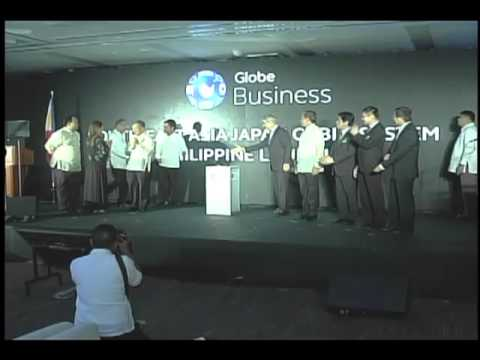 Globe Southeast Asia-Japan Submarine Cable System Launch 9/27/2013