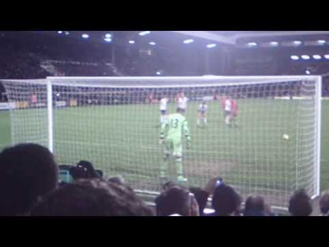 Steven Gerrard last minute Penalty at Fulham v Liverpool  2-3 February 2014