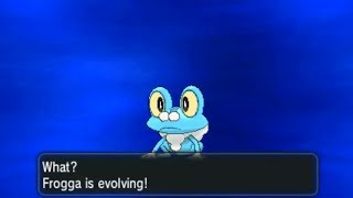 Pokemon X And Y Part 6 Froakie Evolves