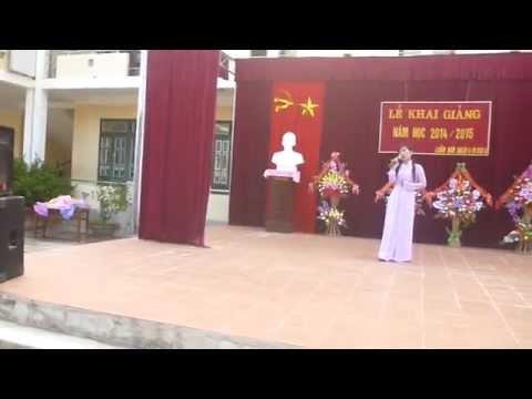 Hoa nang buc giang  Hoang Hai Yen - giáo viên trường MN Luân Giói Điên Biên Đông