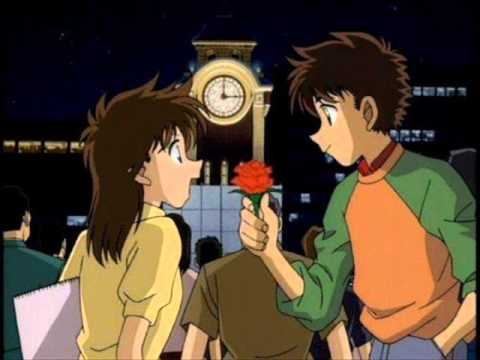 Heiji and Kazuha, Shinichi and Ran, Kaito and Aoko