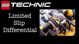 LEGO Technic Custom Flat-bed Truck Limited Slip