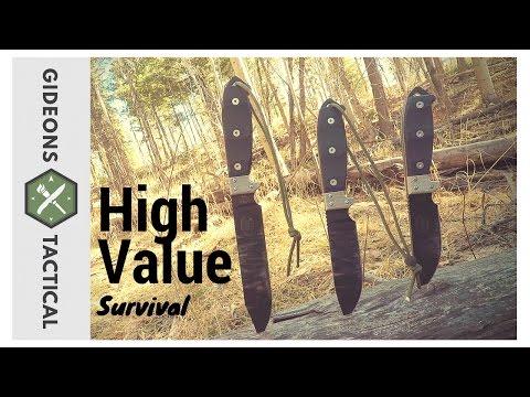 Value Survival Knives: Utica Cutlery UTK Series