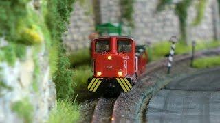 Intermodellbau 2016 Modelleisenbahn Triorama vom Modelspoorclub Oost Brabant