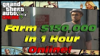 GTA 5 Online How To Farm $150,000 Using Violent Duct