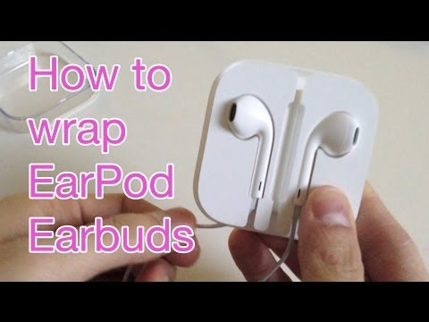 how to wrap earpods back in case