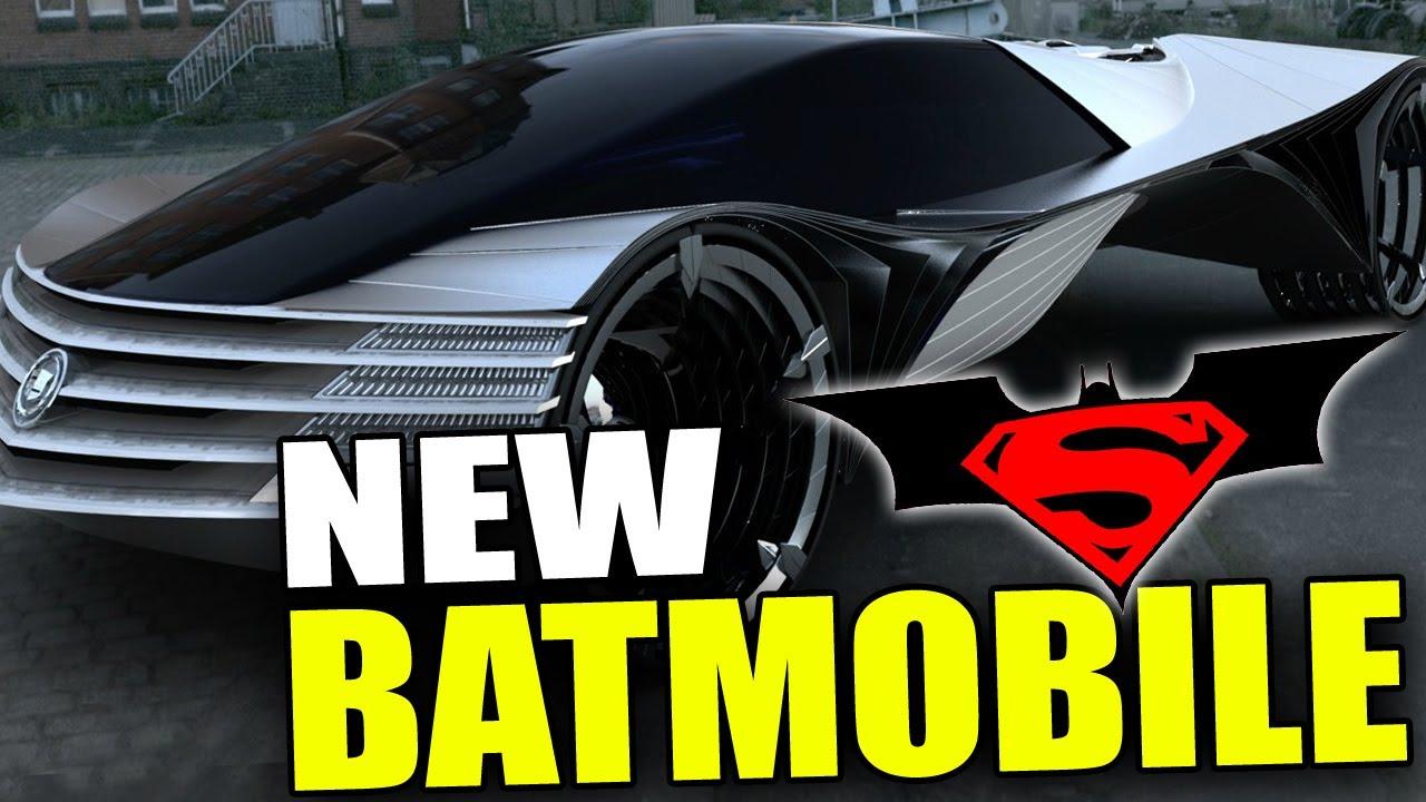 New BATMOBILE - Batman VS Superman Movie (2015) - YouTube