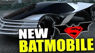 New BATMOBILE Batman VS Superman Movie (2015)