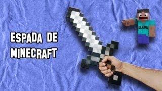 Como Hacer La Espada De Minecraft Real Armas Caseras