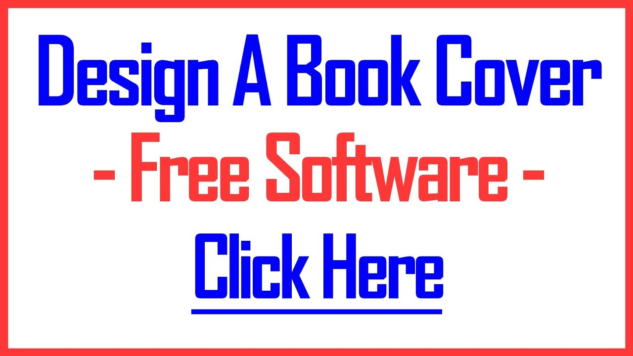 Book Cover Design Software : How to design a book cover using this proven