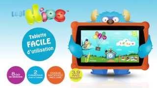 Logikids Tablette Tactile Pour Enfants Logicom-europe