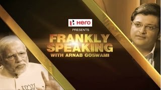 Frankly Speaking With Narendra Modi Full Interview