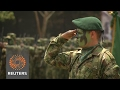 New Colombian soldiers head to former FARC strongholds