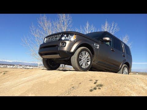 2015 GMC Yukon vs Land Rover LR4 Approach Angle Mashup Review