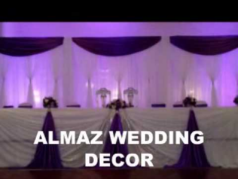 Almaz Wedding Decor Ethiopian Eritrean Purple Wedding Decoration