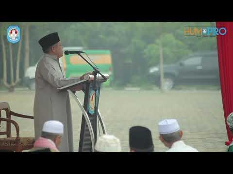 Pelaksanaan Sholat Idul Adha di Hakaman Kantor Bupati Kubu Raya