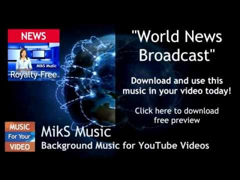 World News Broadcast Background Music Royalty Free Download
