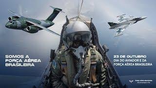Saiba mais sobre o trabalho da FAB em prol da sociedade brasileira assistindo ao vídeo em homenagem ao Dia do Aviador e da Força Aérea Brasileira (FAB).