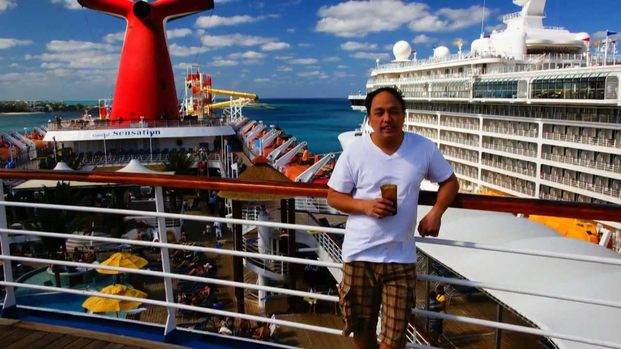 Bahamas Cruise Carnival Sensation 2012 Youtube