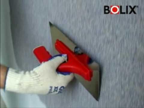 Bolix TM - nakładanie tynku