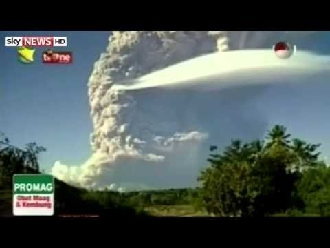 Volcanic eruption grounds flights in Asia Pacific