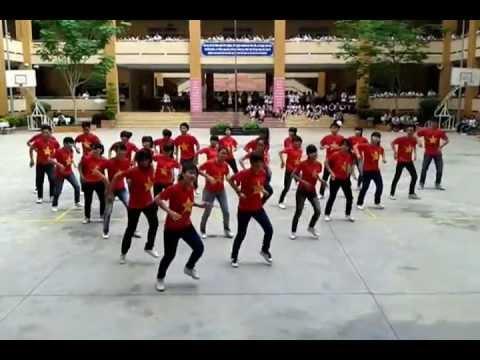 10A14 THPT TÂY THẠNH thi dân vũ (ngày đẹp tươi + việt nam ơi) 12/03/2013