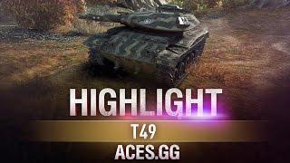 Игра на артотизированном танке. Т49