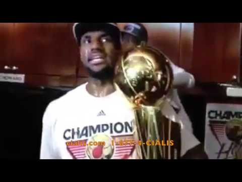 Lebron James & Dwayne Wade in a Cialis Commercial.