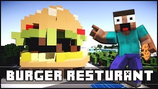 Minecraft Modern Burger Restaurant