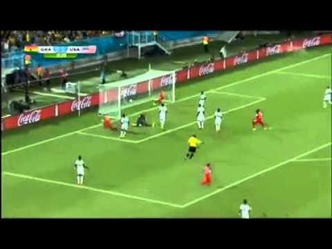 Ghana O - 1 United States ٠ Clint Dempsey 31 Second Goal!