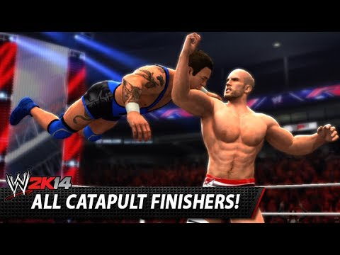 WWE 2K14: All Catapult Finishers!