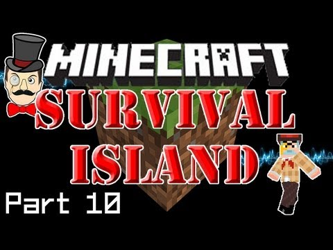 Minecraft SURVIVAL ISLAND - Sheep Overboard! Shocking Thunder and Beds at Last! (Part 10)