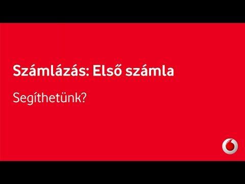 Számlázás - Első számla: Vodafone Red - Segíthetünk?