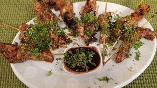 5 Spice Chicken Skewers..