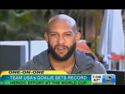Team USA Loses Tim Howard Goalie 16 Saves Heartbreak For Team USA Interview
