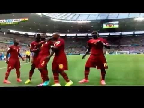 Chana's second goal against Germany. Germany 1-2 Ghana