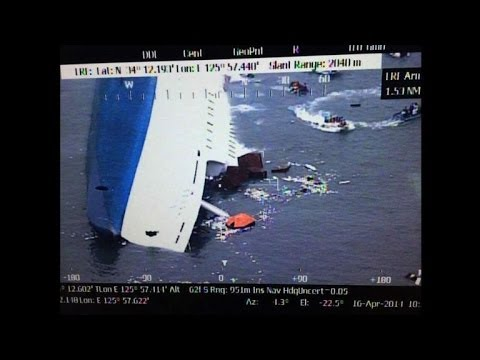 Hundreds rescued from capsized South Korean ferry