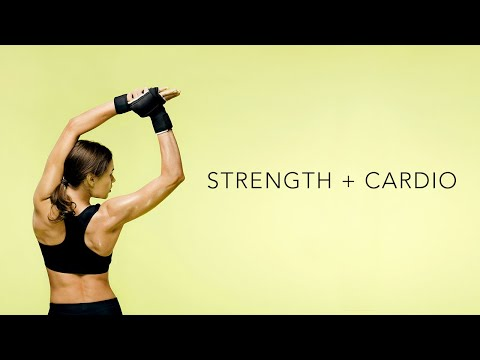 Full Body HIIT Workout | CARDIO + STRENGTH