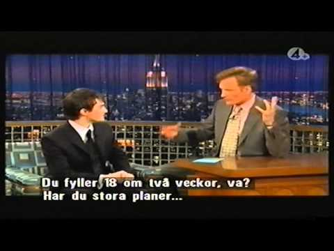 Daniel Radcliffe on Conan O'Brien