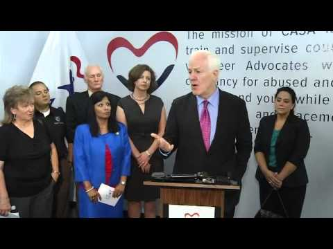 Cornyn Announces Child Sex Trafficking Bill