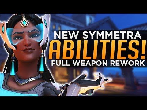 Overwatch: NEW Symmetra Abilities! - Weapon & Turret Rework!