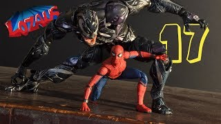 SPIDERMAN STOP MOTION Action Video Part 17