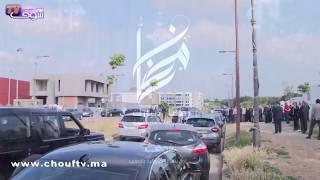 مؤلـــم و بالفيديو..الجنرال حسني بن سليمان يُشيع جنازة زوجته بمقبرة الرياض بالربــاط | خارج البلاطو