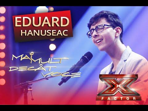 """Bruno Mars - """"When I was your man"""". Vezi aici cum cântă Eduard Hanuseac la X Factor"""